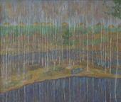 Efrem Zverkov. Spring Flood. 1985