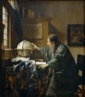 JOHANNES VERMEER. The Astronomer. About 1668