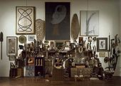 ANDRÉ BRETON. Wall of Objects. After 1945