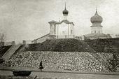 Часовня Св. Анастасии в Пскове. Вид на южный и восточный фасады. Сентябрь – октябрь 1911