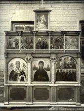 Иконостас часовни Св. Анастасии после реставрации. 1912–1913
