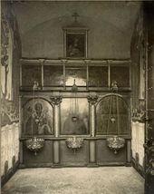 Иконостас в интерьере часовни Св. Анастасии. 1913–1914