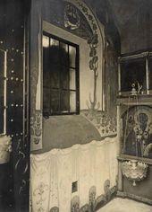 Фрагмент росписи восточной стены часовни Св. Анастасии. 1913–1914