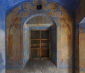 Росписи западной стены часовни Св. Анастасии. Фото: С.В. Колузаков. 2011