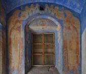 Росписи восточной стены часовни Св. Анастасии. Фото: С.В. Колузаков. 2013