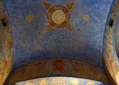 Росписи свода и северной стены часовни Св. Анастасии. Фото: С.В. Колузаков. 2013