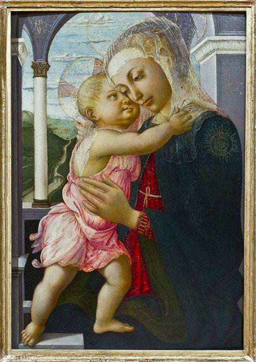 Сандро Боттичелли «Мадонна делла Лоджиа» (ок. 1467 г.)