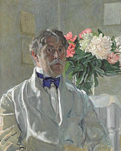 Aleksandr Golovin. Self-portrait. 1912