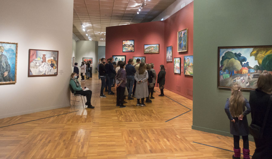The exhibition ROBERT FALK at the New Tretyakov