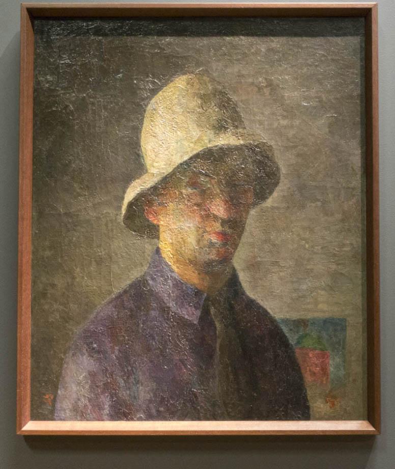 The exhibition ROBERT FALK at the New Tretyakov - Автопортрет. 1923