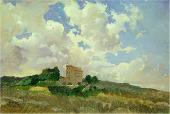 Облака. Фраскати. 1859. Этюд