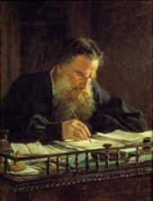 Портрет Л.Н. Толстого. 1884