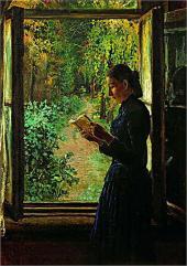 Портрет Н.И. Петрункевич. 1892-1893