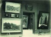 Экспозиция зала H.H. Ге в Третьяковской галерее. 1902 Зал № 6