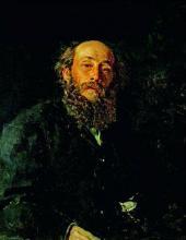 И.Е. РЕПИН. Портрет Н.Н. Ге. 1880
