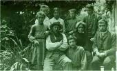 H.H. Ге-младший с семьей. Швейцария. 1905
