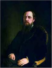 Портрет M.E. Салтыкова- Щедрина. 1872