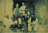 Н.Н. Ге, А.И. Слюсарева с сыном Иваном, Н.Н. Ге-младший, П.Н. Ге, А.Э. Владыкина