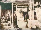 Мастерская H.H. Ге на хуторе Ивановском. 1894