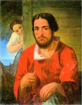 Рыбак. Около 1836