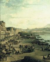 Сильвестр ЩЕДРИН. Вид Неаполя. Ривьера ди Кьяйя. 1826