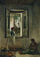 Сильвестр ЩЕДРИН. Неаполитанская сцена. 1827