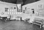 Экспозиция посмертной выставки Е.Д.Поленовой. 1902–1903