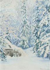 Зима. 1888