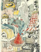 Посад волнушек. Иллюстрация к сказке «Война грибов». 1889–1898