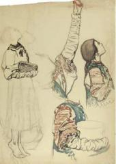 Девушка. 1895