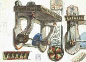 Эскизы столярных изделий. 1885–1892
