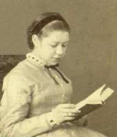 Е.Д. Поленова. Фото. 1866