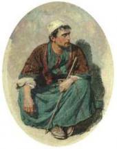 Христос. 1880-е. Этюд