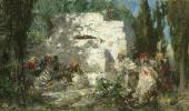 Христос и грешница. 1876