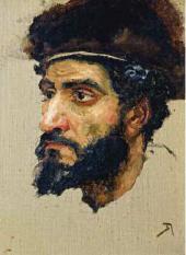 Голова еврея из гетто. 1884