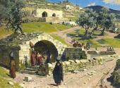 Источник Девы Марии в Назарете. 1882
