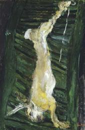 Заяц на зеленой доске. Около 1924–1925