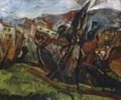 Пейзаж в Сере. 1919