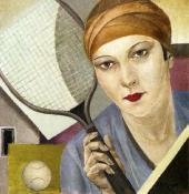 Александра БЕЛЬЦОВА. Теннисистка. 1927