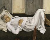 Мать художника отдыхает. 1982–1984