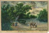 Г.Г. ПЛАСТОВ. Вид реки Иордана. 19 января 1883 г.