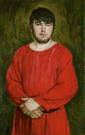 Н.Н. ПЛАСТОВ. Портрет сына в средневековой рубахе. 2011