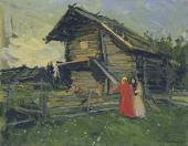 Константин КОРОВИН Сарай. 1900