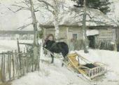 Константин КОРОВИН Зимой. 1894