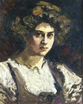 Портрет Н.И. Комаровской 1909-1910