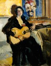 Дама с гитарой. 1911