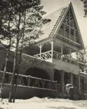 Дом Ф.И.Шаляпина в Ратухине. Фотография. 1900-е
