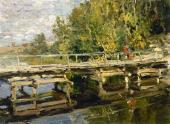 Осень. На мосту Начало 1910-х