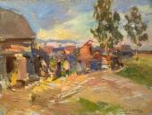 Охотино. Солнечный день. 1915
