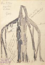 К.А. КОРОВИН. Эскиз костюма к балету «Дон Кихот» Л. Минкуса. 1906